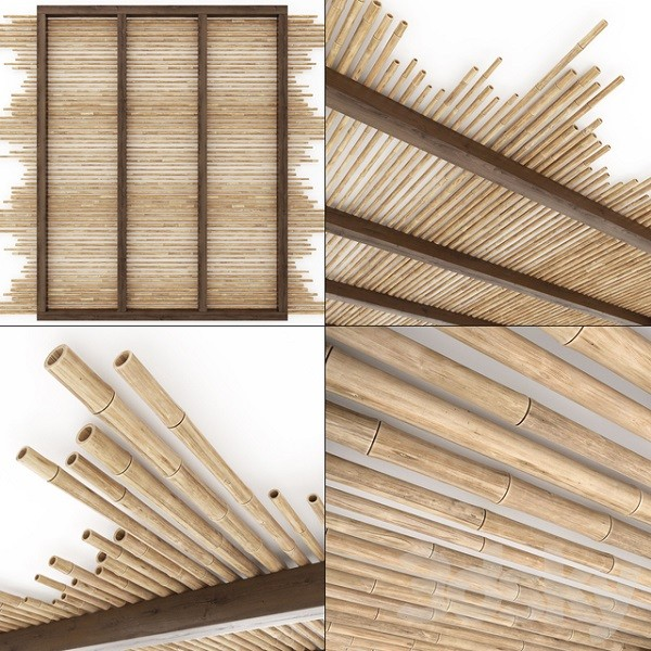 bamboo ceiling materials